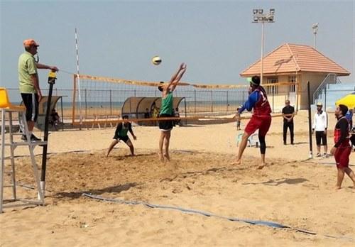 آیا مسابقات والیبال ساحلی برگزار می شود؟