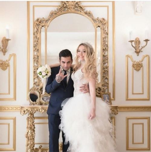 پوریا پوتک و همسرش